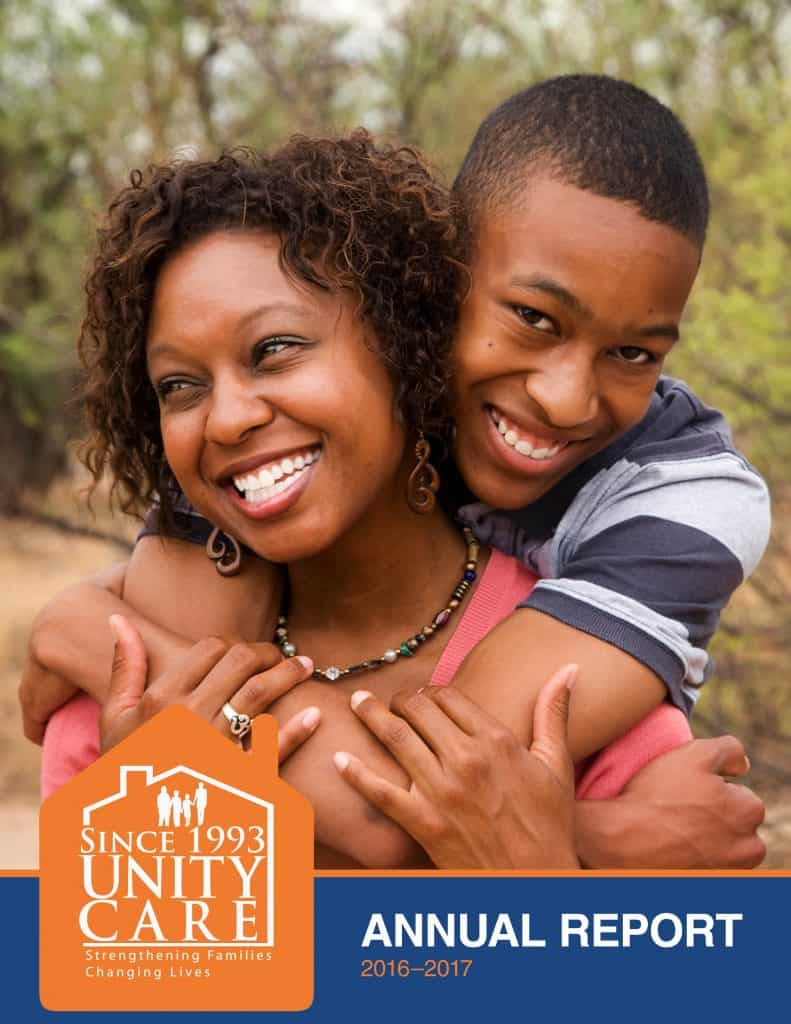 Unity Care Annual Report cover