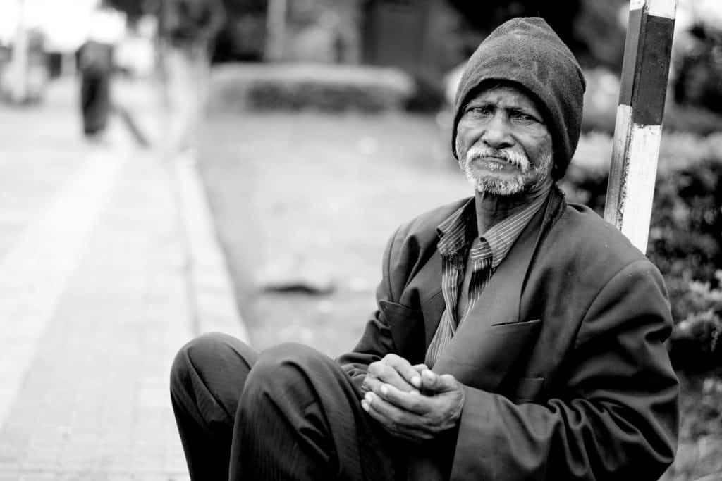 homeless adult